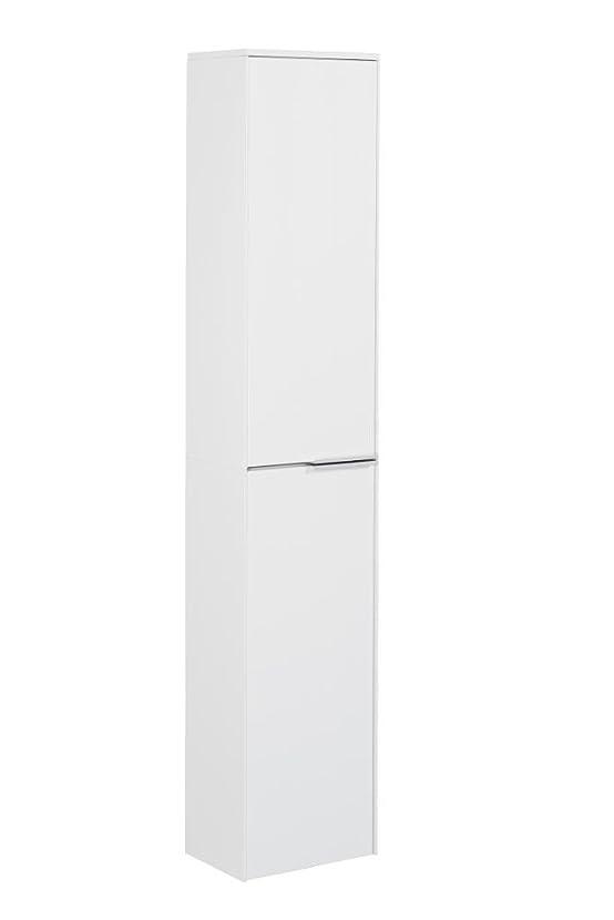 Fackelmann alto armadio scera/Front colore struttura di pino bianco/Cerniere a sinistra/larghezza 31,5cm