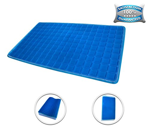 """[NEW] Luxury Gel Cooling Pad On Sale 12.6"""" x 22.8"""" Best Cooling Mat/Gel Bed Pad, Great Ability to Keep You so KOOL Comfortably While Sleeps"""