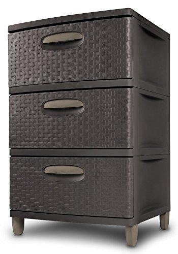 Sterilite-01986P01-3-Weave-Drawer-Unit-Espresso-Pack-Of-2