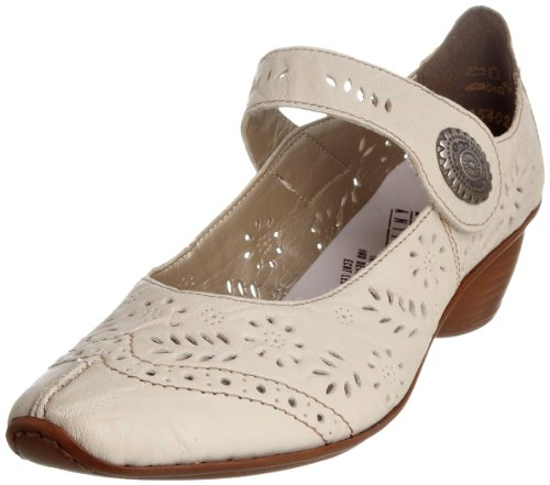 Rieker Women's Mirjam 43780-61 Crema Mary Jane