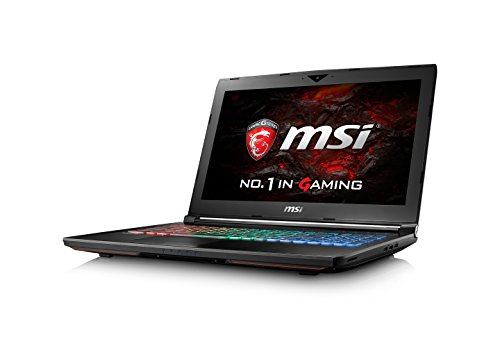 "MSI GT62VR 6RE ""Dominator Pro 4K"" 022UK 15.6-Inch FHD 4K Gaming Notebook (Black) - (Intel i7 6820HK, 32 GB RAM, 512 GB SSD, 1 TB HDD, GTX 1070 Graphics Card, Windows 10)"
