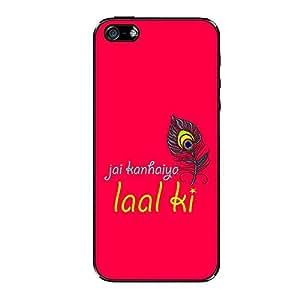 Vibhar printed case back cover for Apple iPhone 5s Kanhaiya