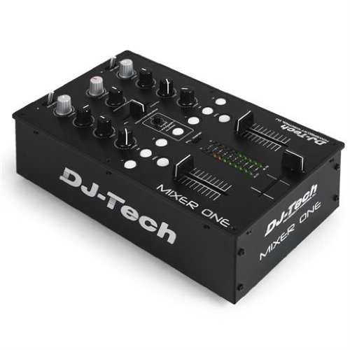 DJ-Tech Mixer One 2-Kanal USB