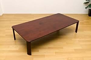 NEWウッデイ折りたたみテーブル アウトレット ブラウン WZ-1500 BR
