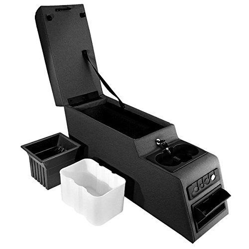 Rugged Ridge 13102.01 Ultimate Black Locking Center Console (Rv Center Console compare prices)
