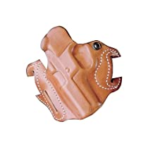Desantis Speed Scabbard Holster fits Walther PPS, Left Hand, Tan