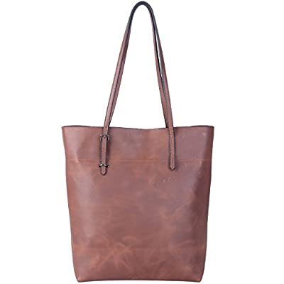 Jack&Chris®Perfect Ladies' Genuine Leather Tote Bag Handbag Shoulder Bag,YSZ112