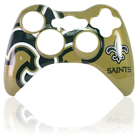 Xbox 360 Official NFL New Orleans Saints Controller Faceplate