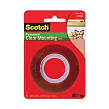3M Scotch Heavy Duty Mounting Tape, Clear (4010)