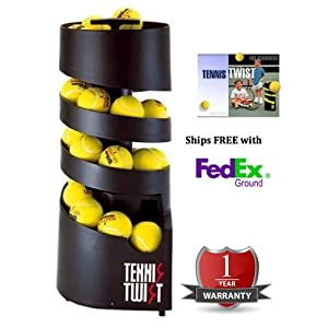 Sports Tutor Tennis Twist A/C Powered Tennis Ball Machine