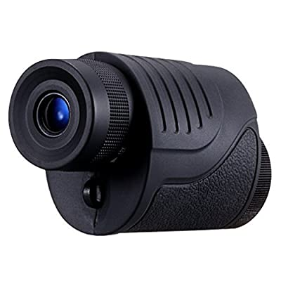 TOMO 12-36 X 25 DV Style Dual Focus High Powered Monocular Telescope for Hunting, Shows Bird Watching, Watching Wildlife, Camping Golf Hiking Fishing or Scenery, Non-Slip Grip, Bright and Clear Range of View, Compact and Lightweight Portable Design, Glimm