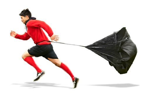 Mitre Resistance Chute - Accesorio para entrenar la resistencia, color negro