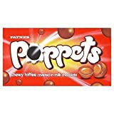 Paynes Poppets Chewy Toffee Covered in Milk Chocolate x Case of 36