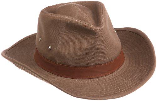 dorfman-pacific-mens-twill-outback-hatbarklarge