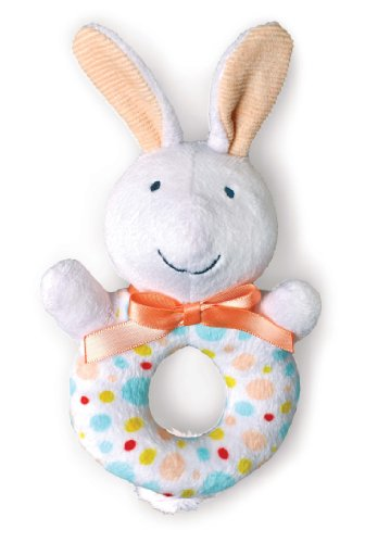 Kids Preferred Pat The Bunny: Loop Rattle