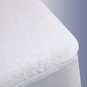 Terry Cloth Waterproof Mattress Protector, King Size