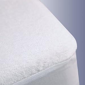 Amazon Com Terry Cloth Waterproof Mattress Protector