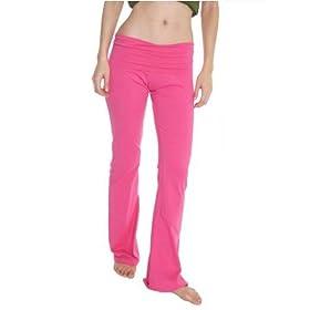 American Apparel Women's Stretch Cotton Yoga Pant