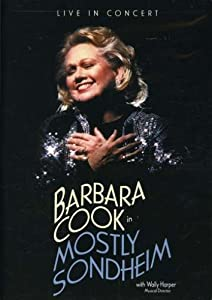 Barbara Cook In Mostly Sondheim [2003] [DVD] [Reino Unido]
