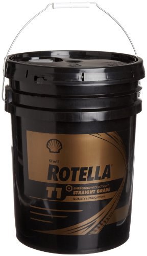 Shell rotella 550019892 t1 40 motor oil 5 gallon pail for Gallon of motor oil