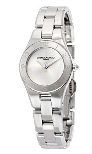 baume-et-mercier-linea-silver-dial-stainless-steel-ladies-watch-10138