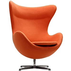 LeisureMod Arne Jacobsen Style Egg Chair W