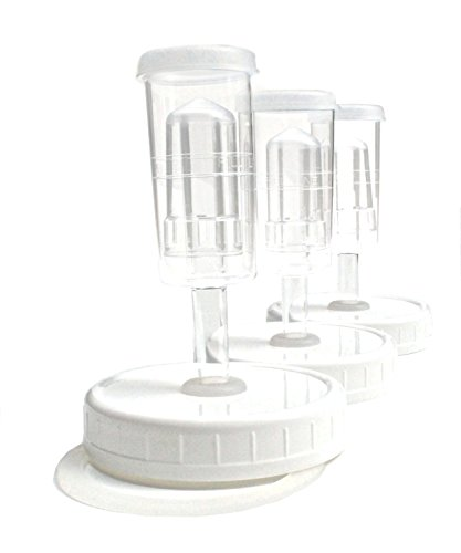 Zatoba - Kraut Kaps© 3 Pack - Platinum (Mason Jar Airlock compare prices)
