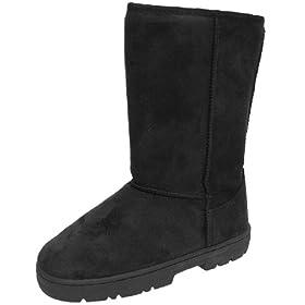 JC Fashion Boots Faux Suede Lug Sole Boot