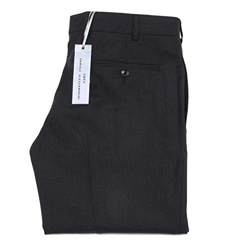6749M pantaloni grigi uomo DANIELE ALESSANDRINI linea grey trousers pants men [46]