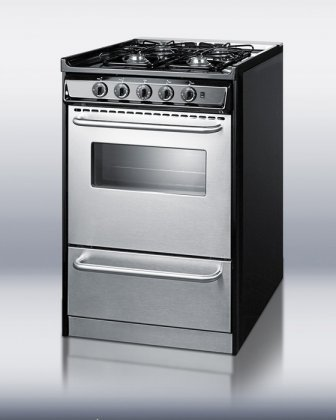 TNM130R-Professional-Series-20-Slide-In-Gas-Range-With-Manual-Clean-Electronic-Ignition-and-Low-Backguard-Stainless-Steel-Natural