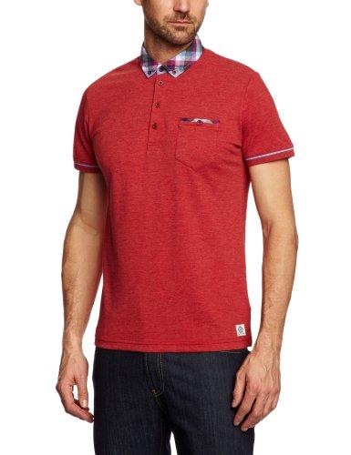 GUIDE LONDON SJ.3805 Polo Shirt Men's Top Red Large