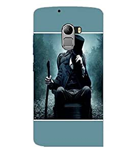 PrintDhaba Snow Hunter D-1438 Back Case Cover for LENOVO K4 NOTE A7010a48 (Multi-Coloured)