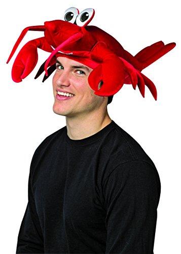 Rasta Imposta Men's Lobster Hat, Red, One Size