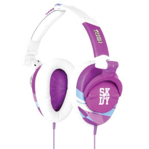 Skullcandy Skullcrusher Headphones - 2011 Purple/White (2011 Color), One Size