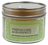 Shearer Scented Candle In Tin / 20 hrs - Persian Lime & Grapefruit (6cm x 4.7cm)