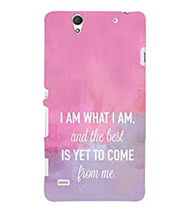 Ebby Premium Printed Mobile Back Case Cover With Full protection For Sony Xperia C4 Dual (Designer Case)