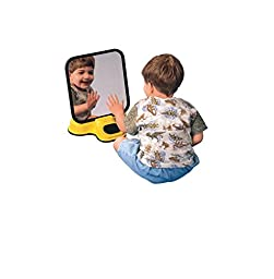 Sensation Products 100810 Talking Speech Therapy Unbreakable Mirror, Plastic, 8\