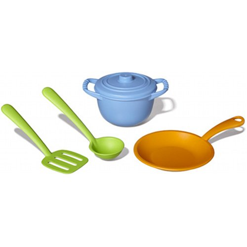 Green Toystm Chef Set front-450588