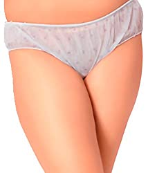 GOLDEN GIRL Women's Premium Quality Use And Throw Disposable Panties (PACK OF 12) (Medium)