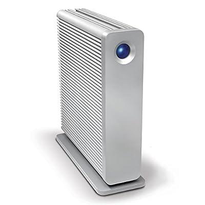 LaCie d2 Quadra v3 Hard Disk 3 TB eSATA/FireWire800/USB 3.0 Desktop External Hard Drive 301549U (Aluminum)