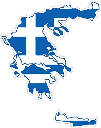 Autocollant-sticker-adhesif-voiture-vinyle-drapeau-carte-grece-grecque