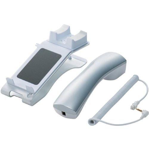 ELECOM iPhone4/4S/3GS/3G 対応 スマートフォン用電話スタンド ホワイト MPA-PS001WH