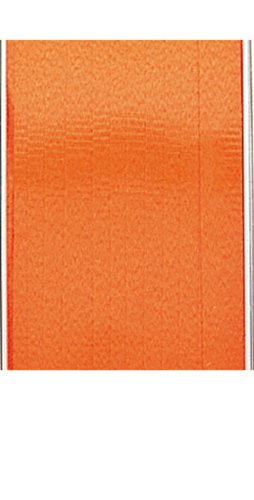 The Gift Wrap Company Solid Colored High Gloss Curling Ribbon, Orange