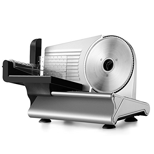 Flexzion Electric Meat Slicer Machine 7.5