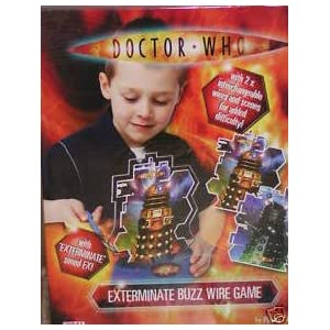 Dr Who Extreme Buzz Wire Game: Amazon.co.uk: Toys & Games