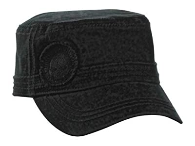 Harley-Davidson Skull Hubcap Painter's Cap Black PC102930 by Global Products, Inc.