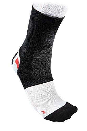 McDavid - Supporto elastico per caviglie, nero (nero), M