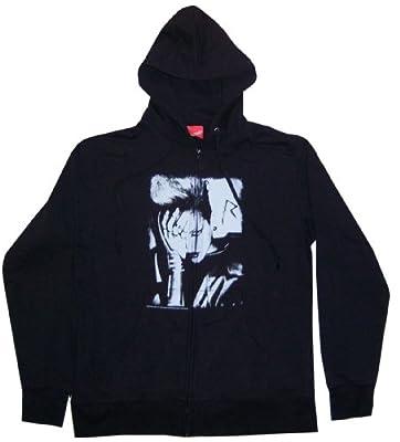 "Rihanna ""Rated R"" Tour Black Zip Up Hoodie Sweatshirt New Adult (Small)"