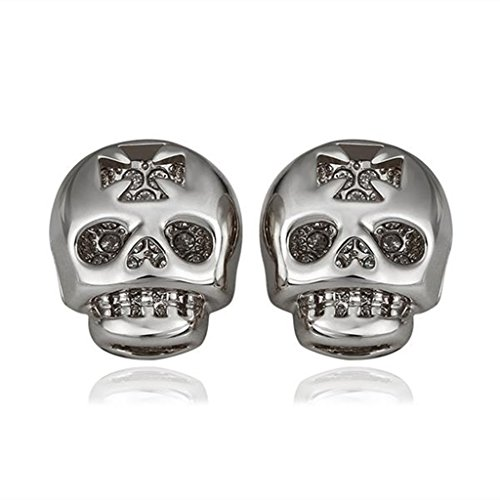 aomily-jewelry-18k-gold-plated-stud-earrings-for-womens-skull-cross-white-gold