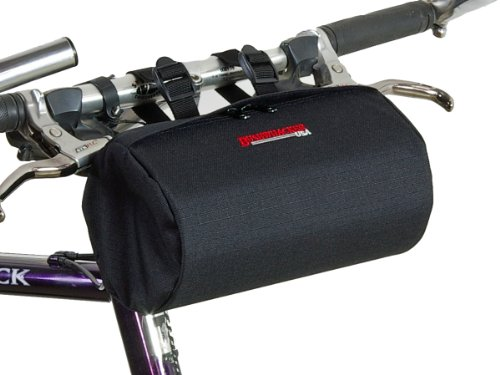 Bushwhacker Cody Black - Bike Handlebar and Under Seat Bag
